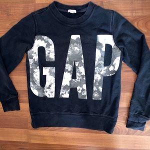 GAP Floral Logo Crewneck Sweatshirt
